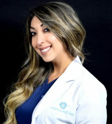 Dr Nina F in our West Hollywood location